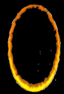 Orange portal.png - Portal PNG