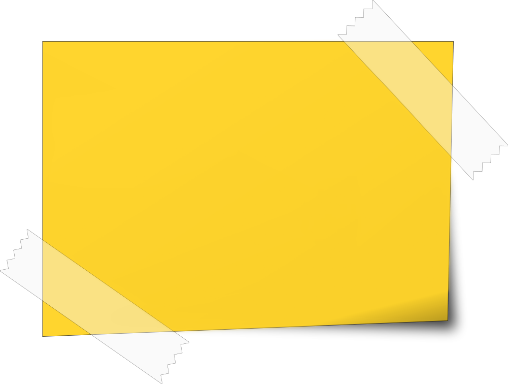 Post Its PNG - 70121