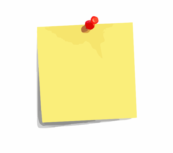 Post Its PNG - 70116