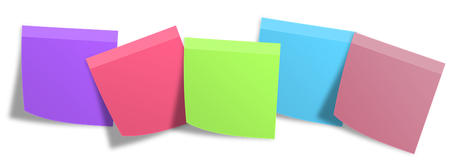 Postit, Memo, Post It, Notes, Memory - Post Its PNG