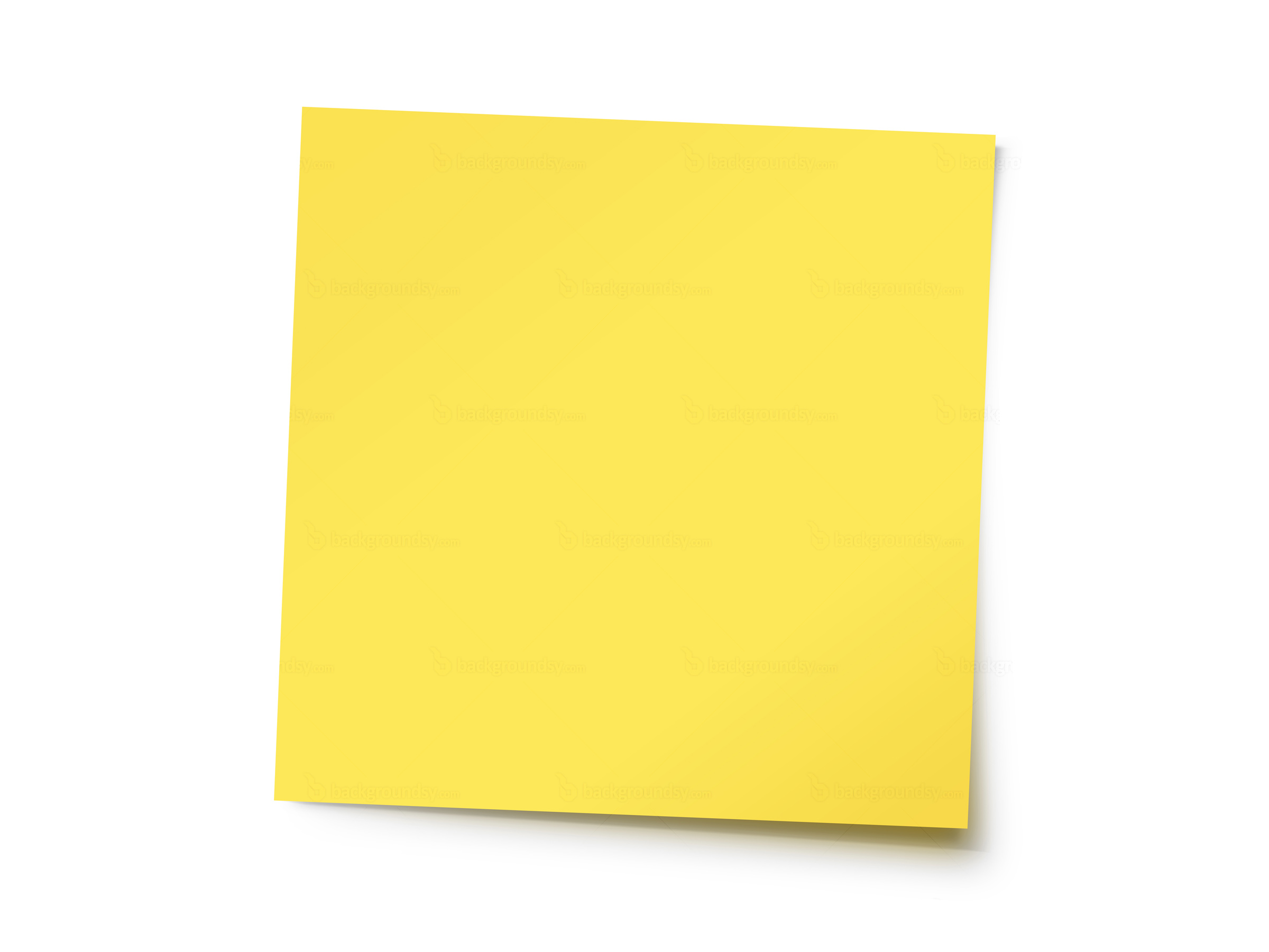 Yellow post-it note - Post Its PNG