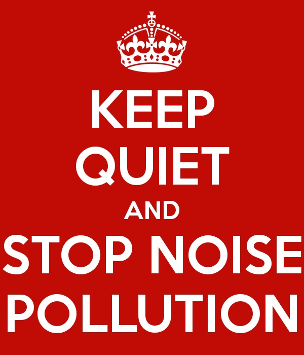 Poster On Noise Pollution PNG - 73516