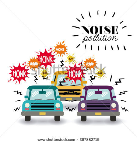 noise pollution design, vector illustration eps10 graphic - Poster On Noise Pollution PNG