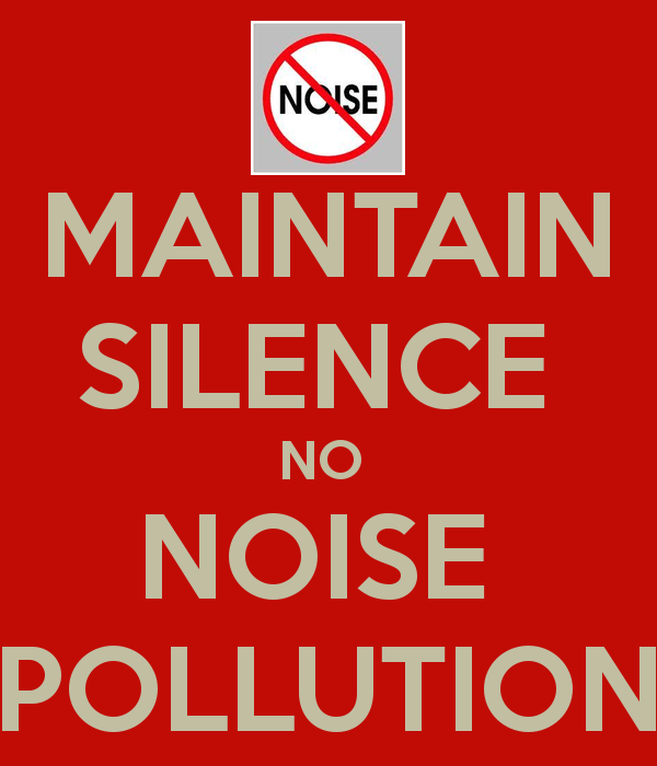 Poster On Noise Pollution PNG - 73522