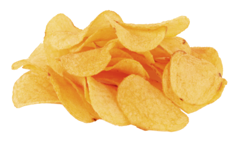 Chips Transparent Background - Potato Chips PNG HD