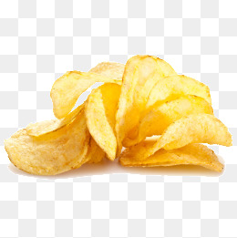 Potato chips, Potato Chips, Snacks, Golden PNG Image - Potato Chips PNG HD