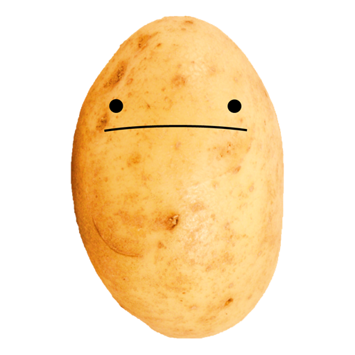 Potato - Potato HD PNG
