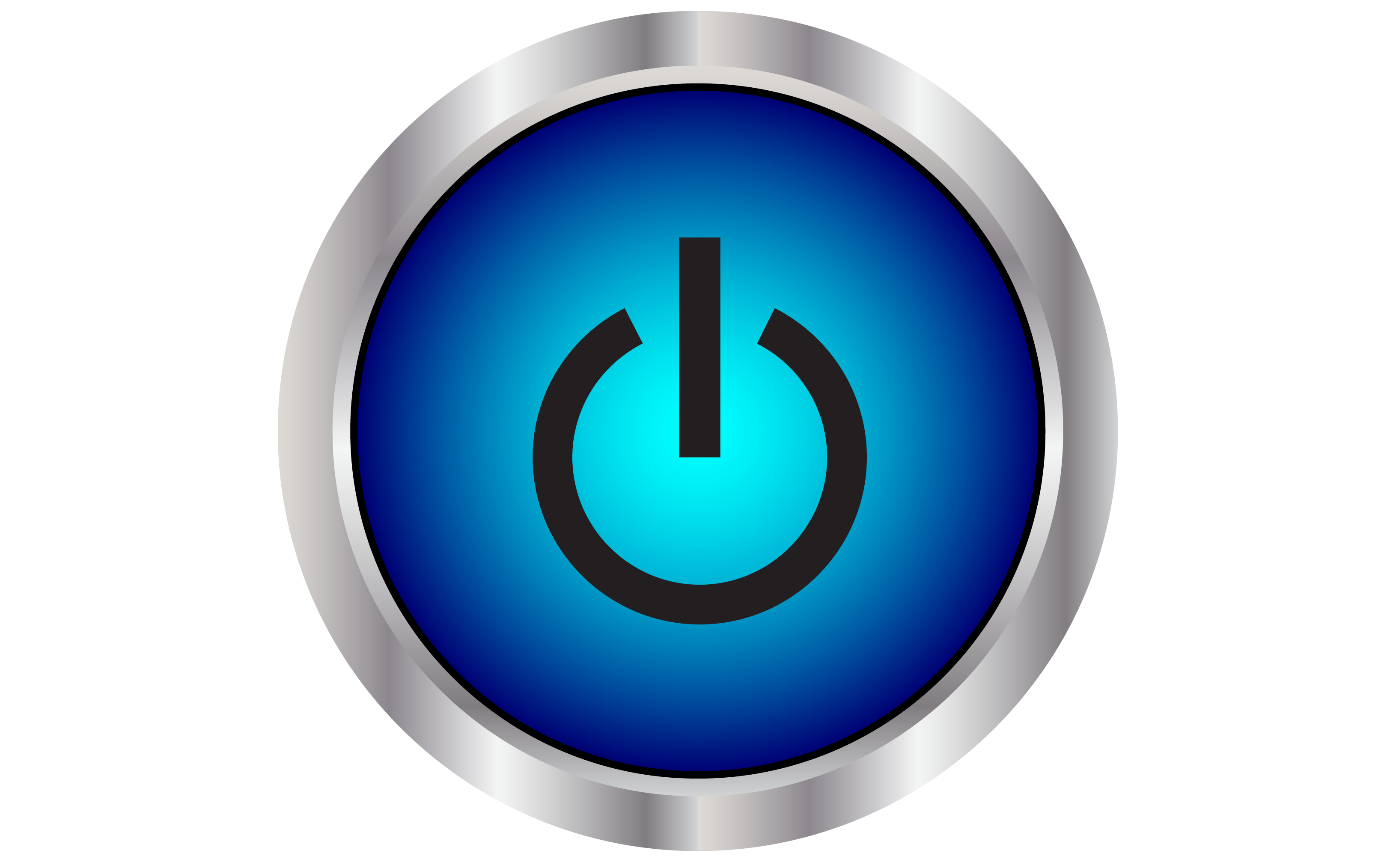 Power Button Full Hd - Power HD PNG