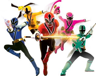Power Rangers Transparent PNG