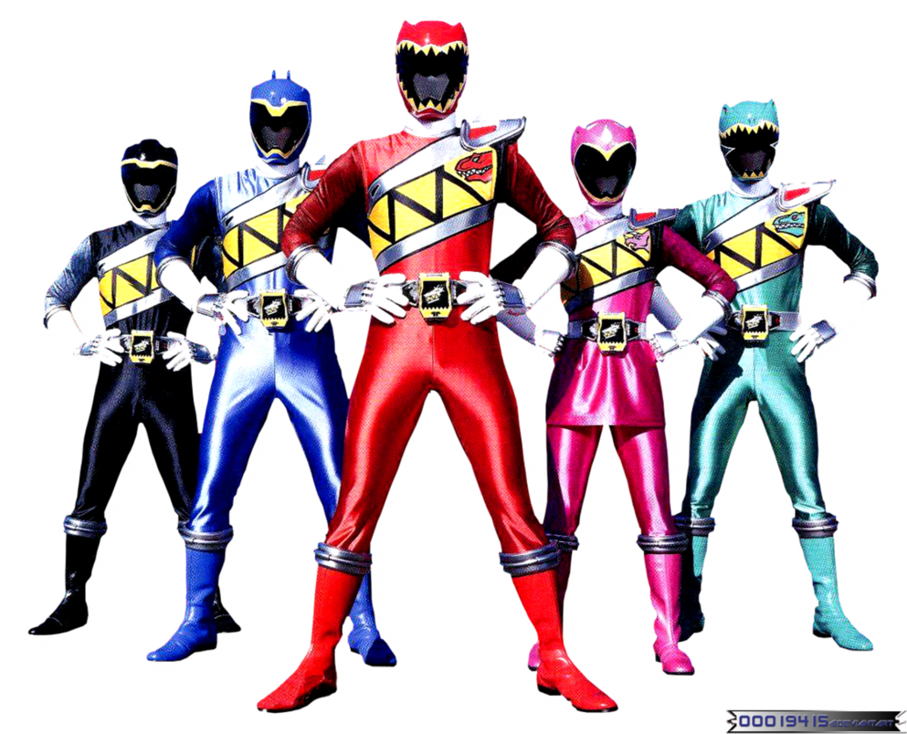Power Rangers PNG HD