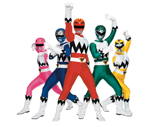 Lost galaxy rangers.png - Power Rangers PNG