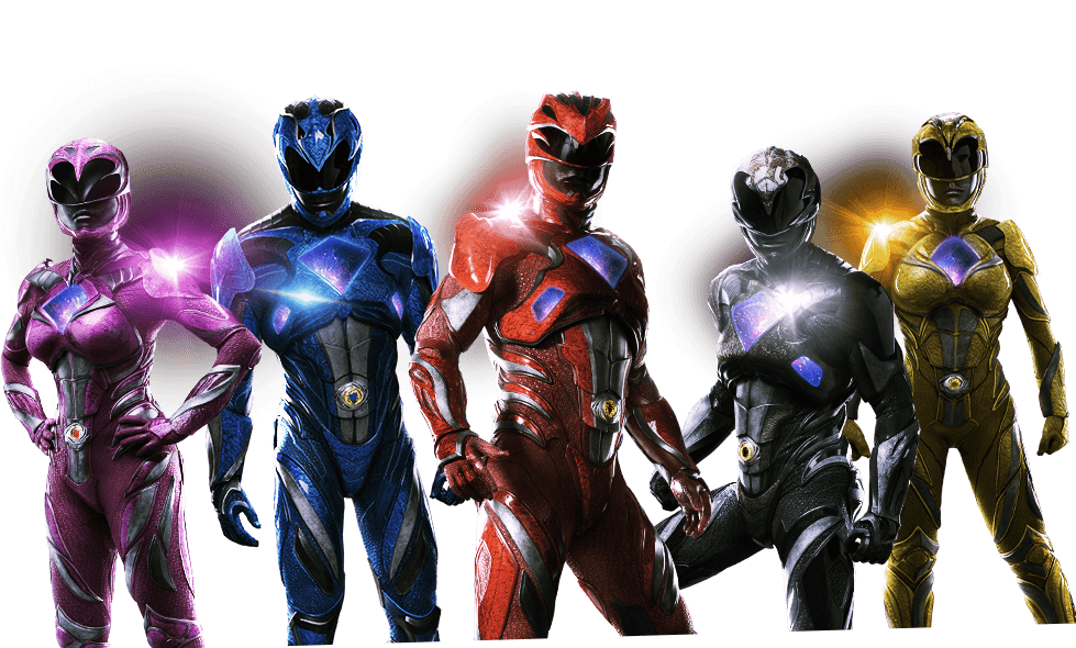 Rangrers Power rangers 320 - Power Rangers PNG