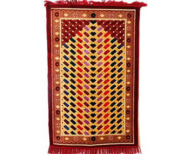 Prayer Mat (Jai Namaz) Multi Color/ - Prayer Mat PNG