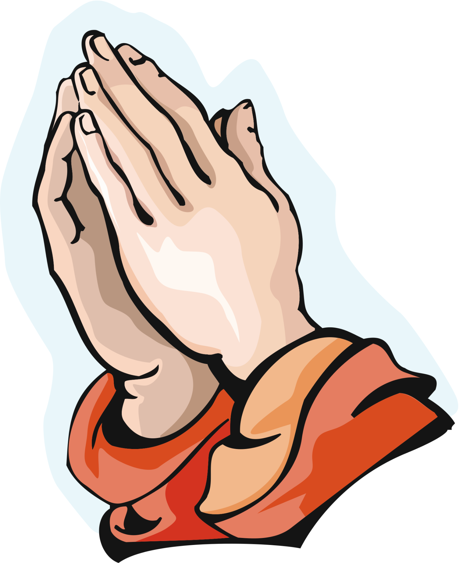 Praying hands 1 free clip art image 2 - Praying Hands PNG HD Images