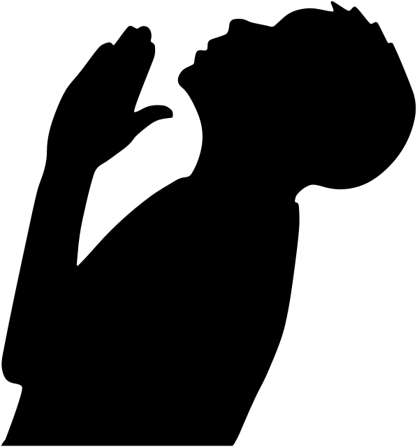 Praying PNG HD