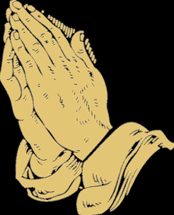 Folded, Hands, Praying, Pray, Prayer - Praying PNG HD