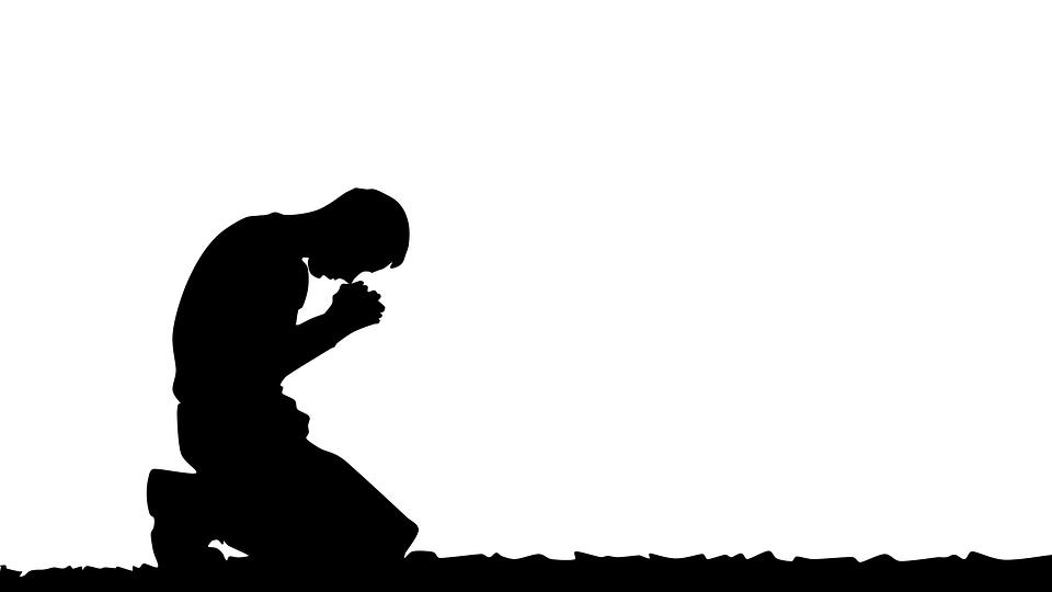 prayer praying man illustration religious - Praying PNG HD