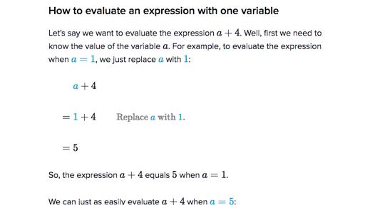 Evaluating expressions PlusPng.com  - Pre Algebra PNG
