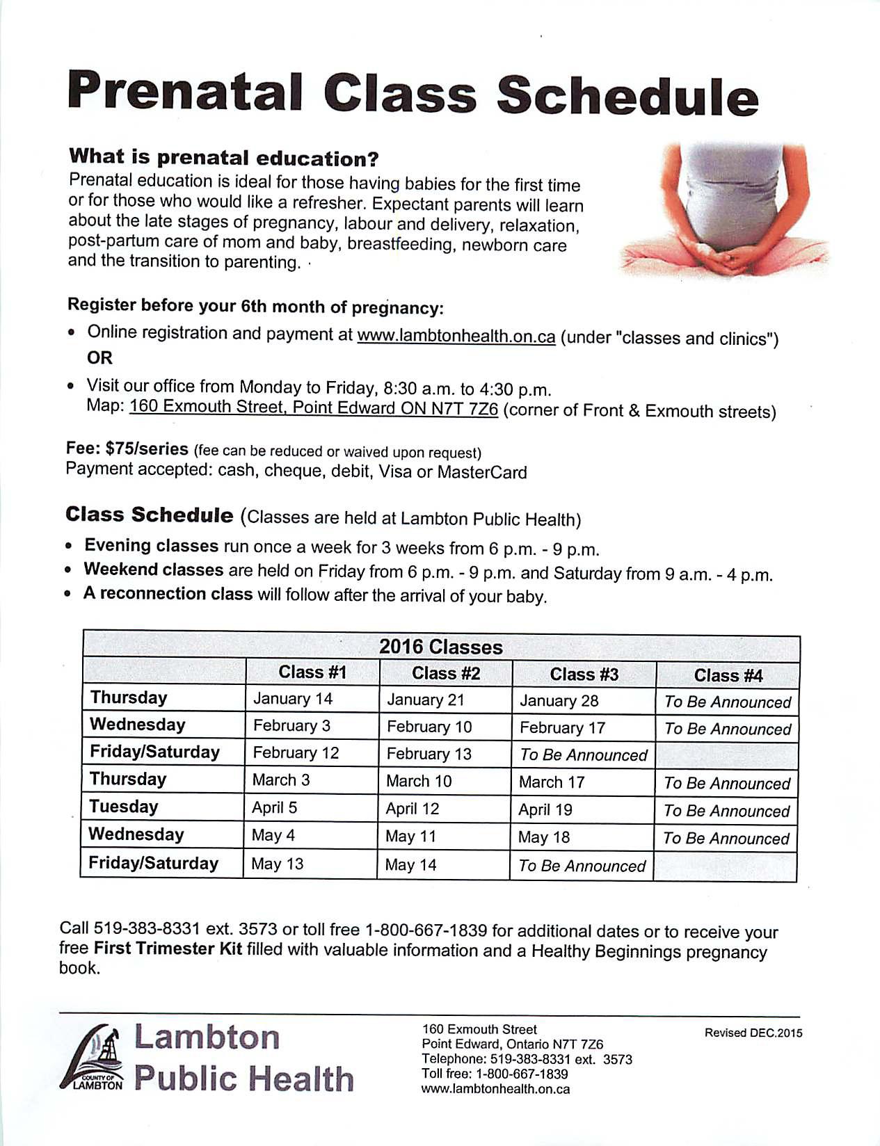 . PlusPng.com Prenatal Class ScheduleFull resolution (1265 × 1648) - Prenatal Class PNG