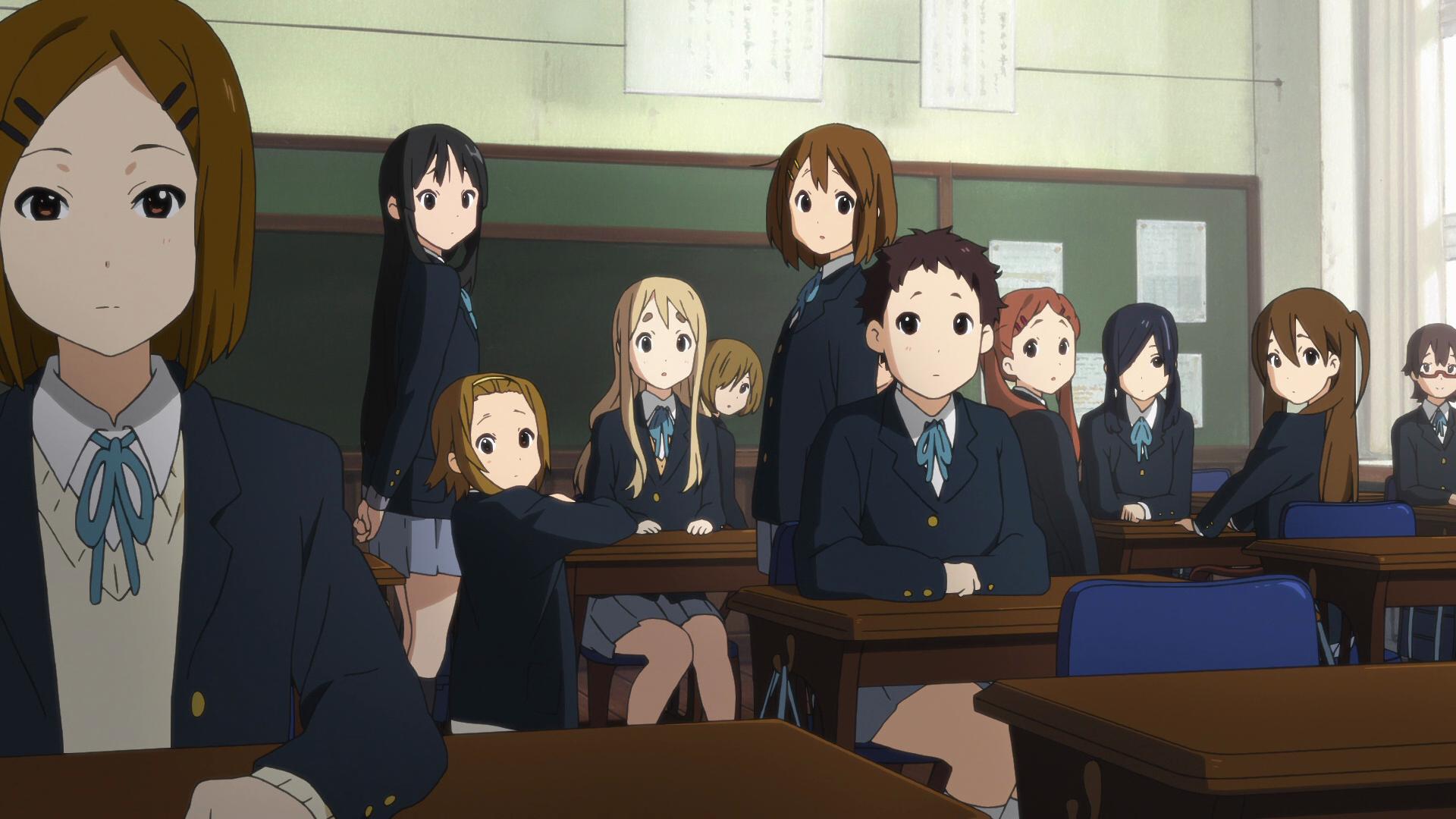 Class 3-2 deciding to prepare a present for Sawako.png - Prepare PNG HD