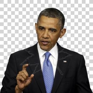 Barack Obama PNG - 858