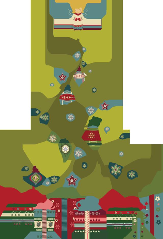 Christmas Tree PNG - 6123