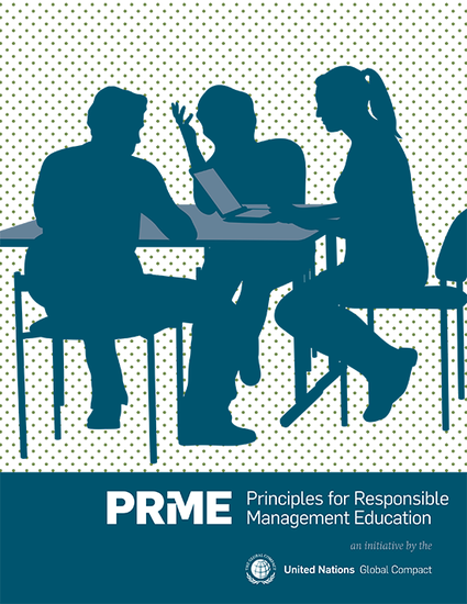 PRME Principles for Responsible Management Education (English) - Principle Of Initiative In Management PNG