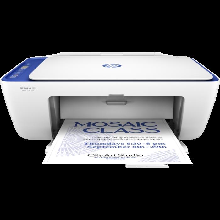 HP DeskJet 2622 All-in-One Printer - Printer HD PNG