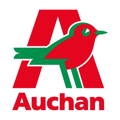 Auchan logo vector . - Progressive Enterprises Logo Vector PNG