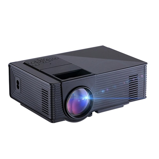 55W Digital Projector Home Cinema Theater Mini LED Projector Portable  Support JPEC GIF PNG TIF Image - Projector HD PNG