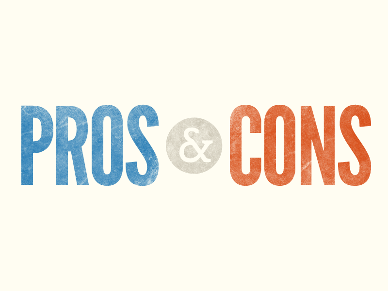 Pros And Cons PNG - 169387