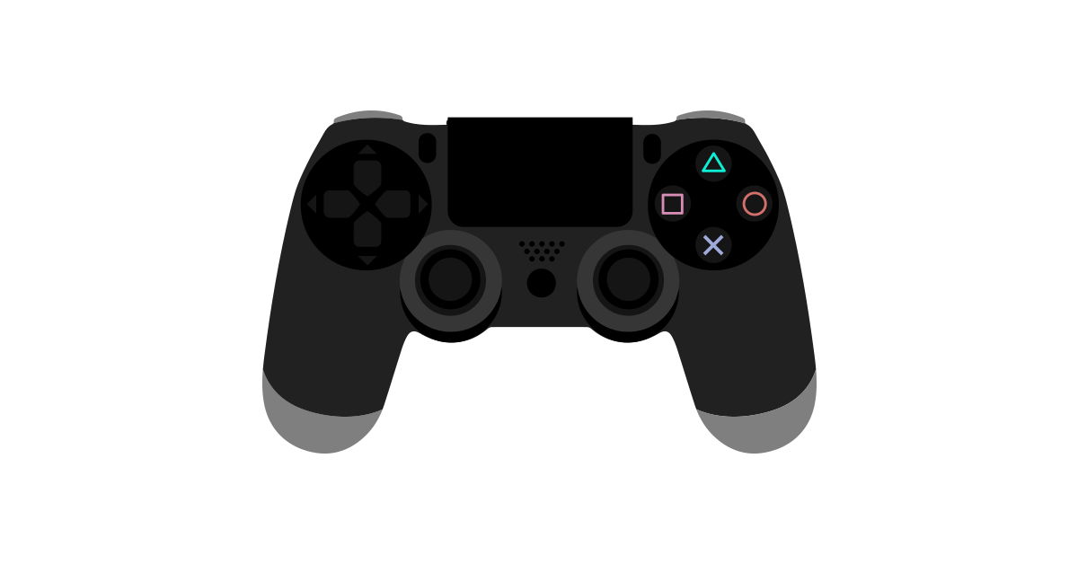 PS4-Controller-PNG-Graphic-Cave.png - Ps4 PNG