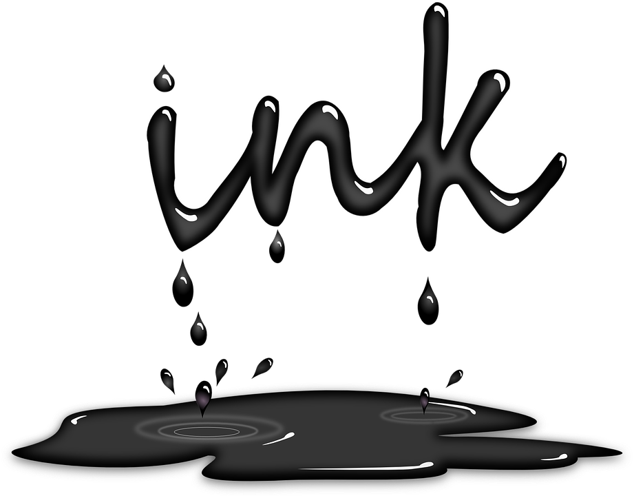 ink dripping black splashing liquid writing grey - Puddle PNG Black And White
