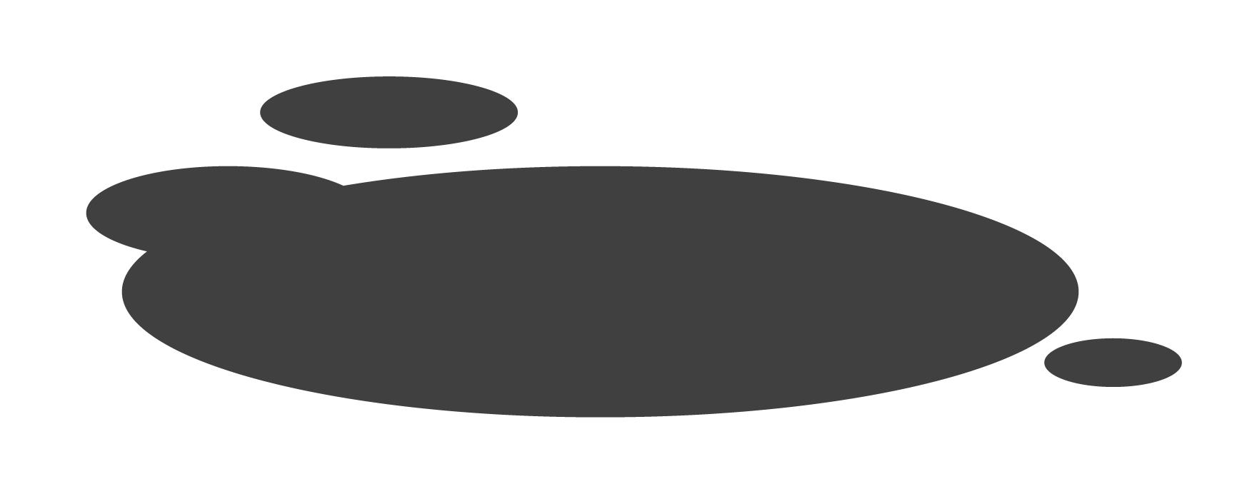 Puddle PNG Black And White - 70494