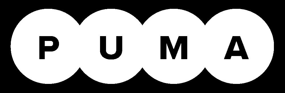 Puma Logo in White PNG (bitmap) PlusPng.com  - Puma Logo PNG