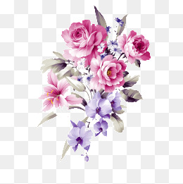 purple and pink flowers png transparent purple and pink flowers png