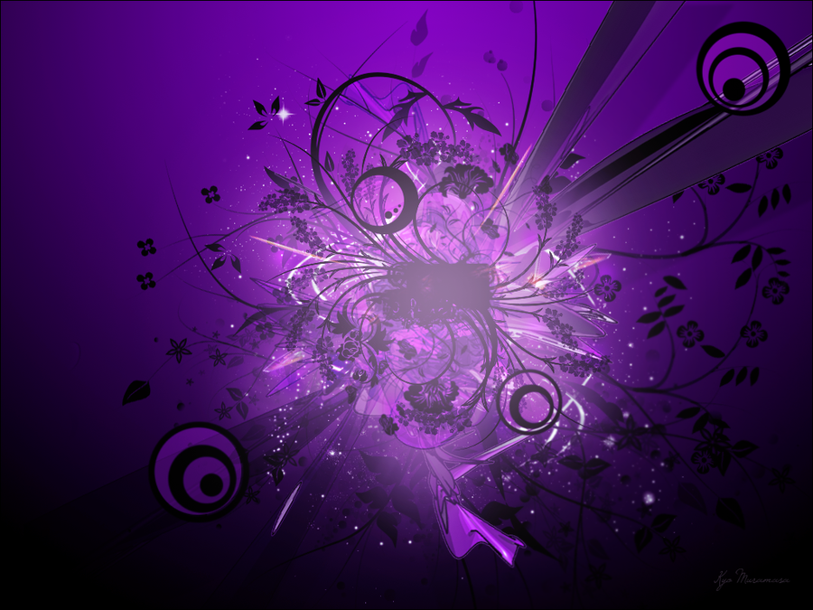 Abstract wallpaper purple by DevilHeart200 PlusPng.com  - Purple Star PNG HD