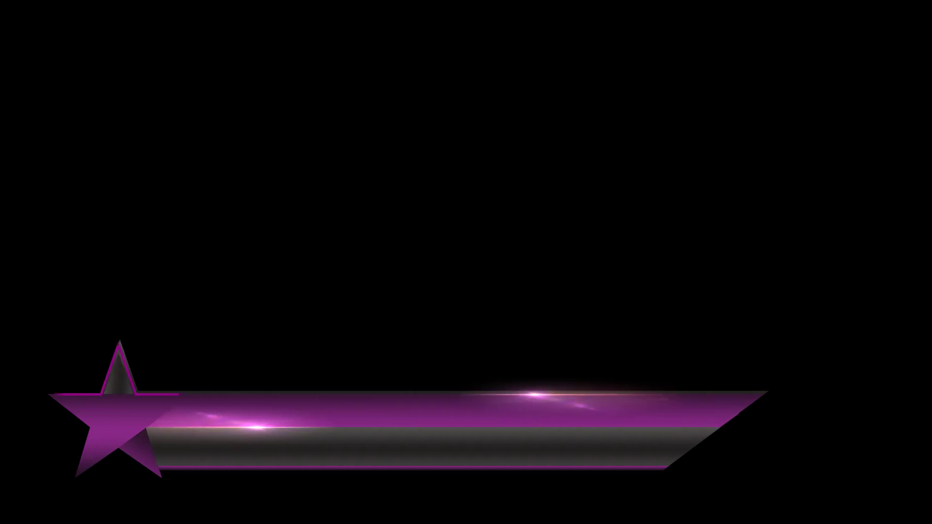 Black-Purple Star animated lower third banner bar screen broadcast name  plate Motion Background - VideoBlocks - Purple Star PNG HD