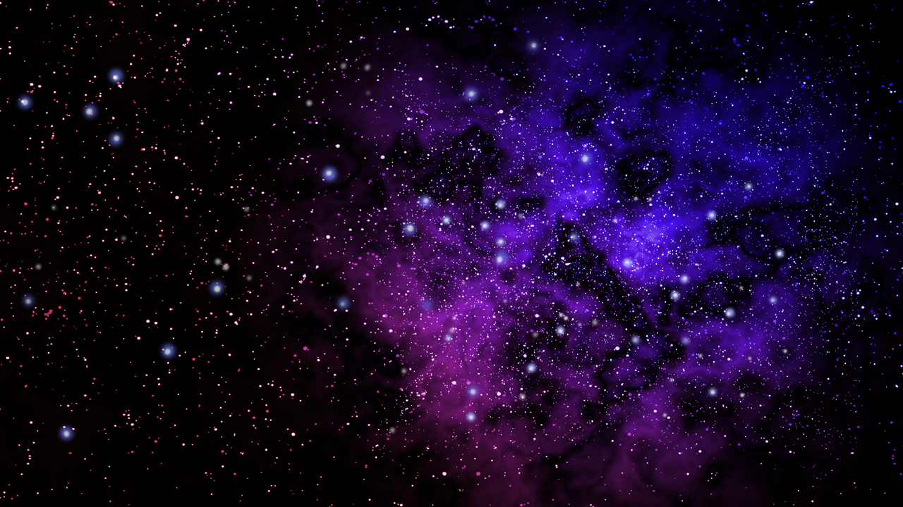Space - Purple Star PNG HD