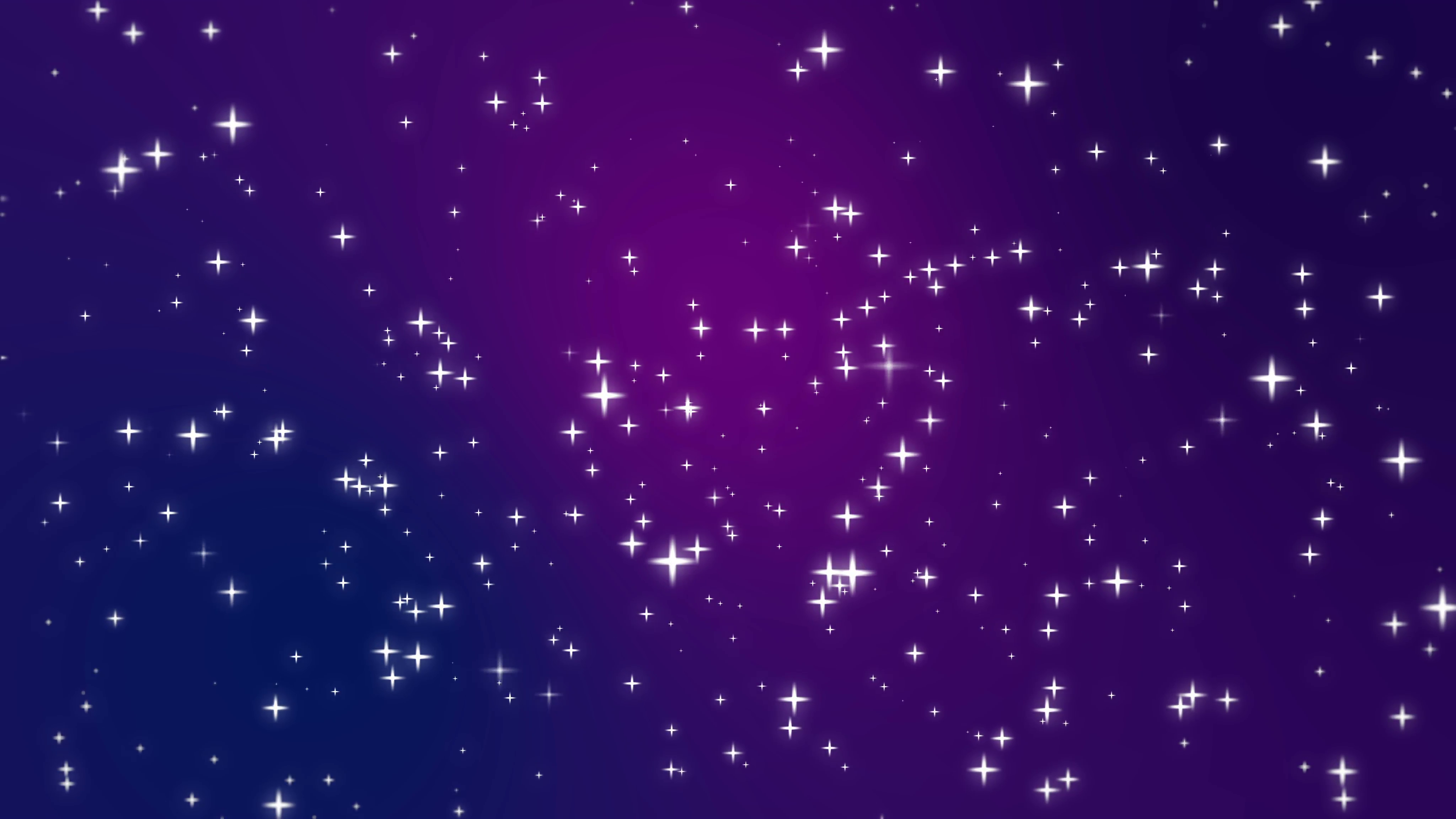 Sparkly light star particles moving across a purple blue pink gradient  background imitating night sky full - Purple Star PNG HD