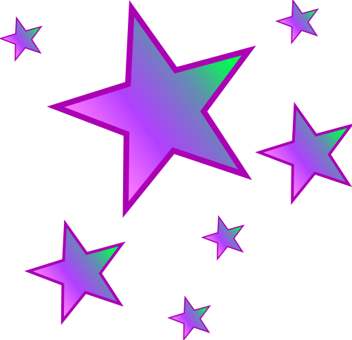 Purple Star PNG HD - 130630