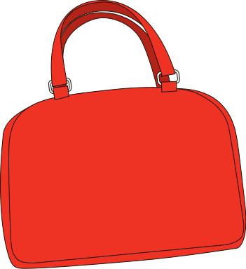 bright red purse - /clothes/accessories/purse/bright_red_purse.png.html - Purse PNG
