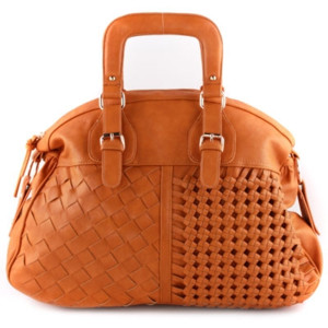 camel brown square handle checker braided handbag purse.png (PNG Image, 468  × - Purse PNG