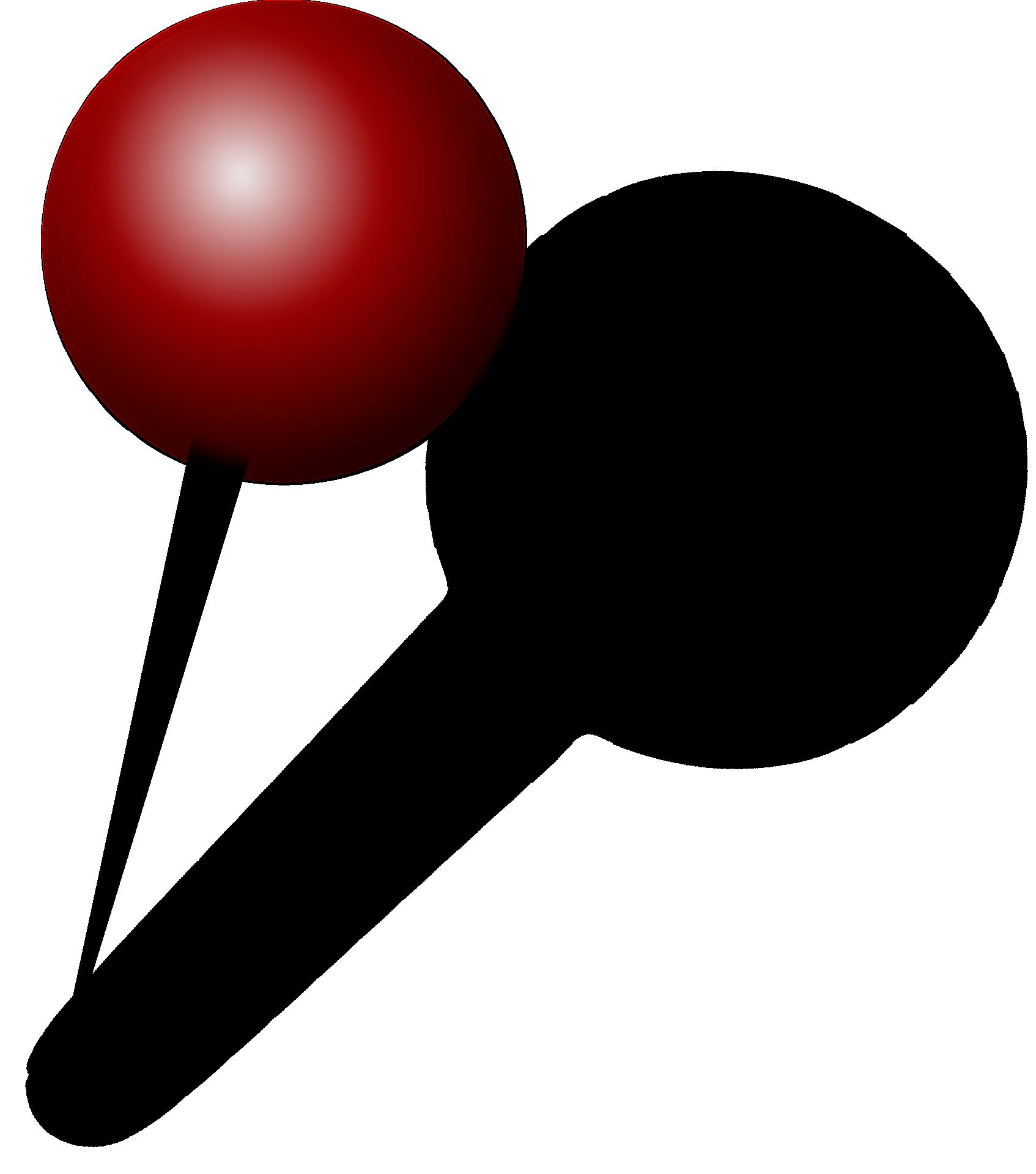 File:Red push pin.png - Push Pin PNG