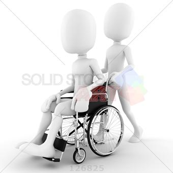 Pushing Wheelchair PNG-PlusPNG.com-340 - Pushing Wheelchair PNG