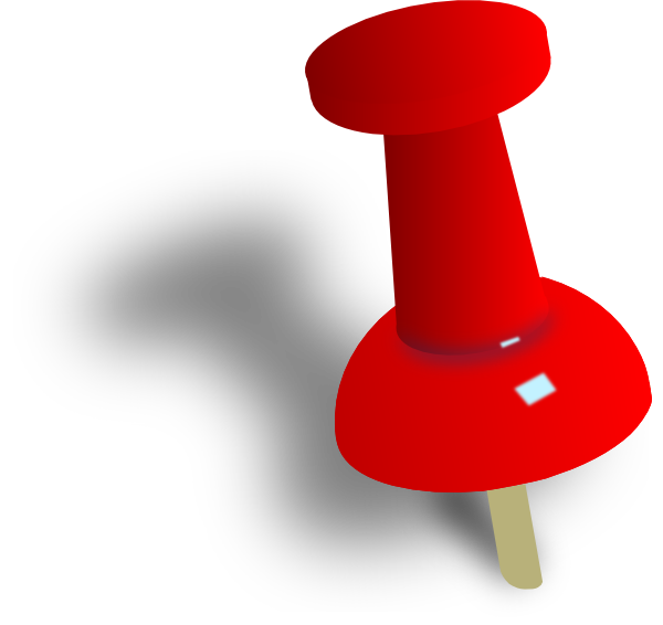 File:Red push pin.png