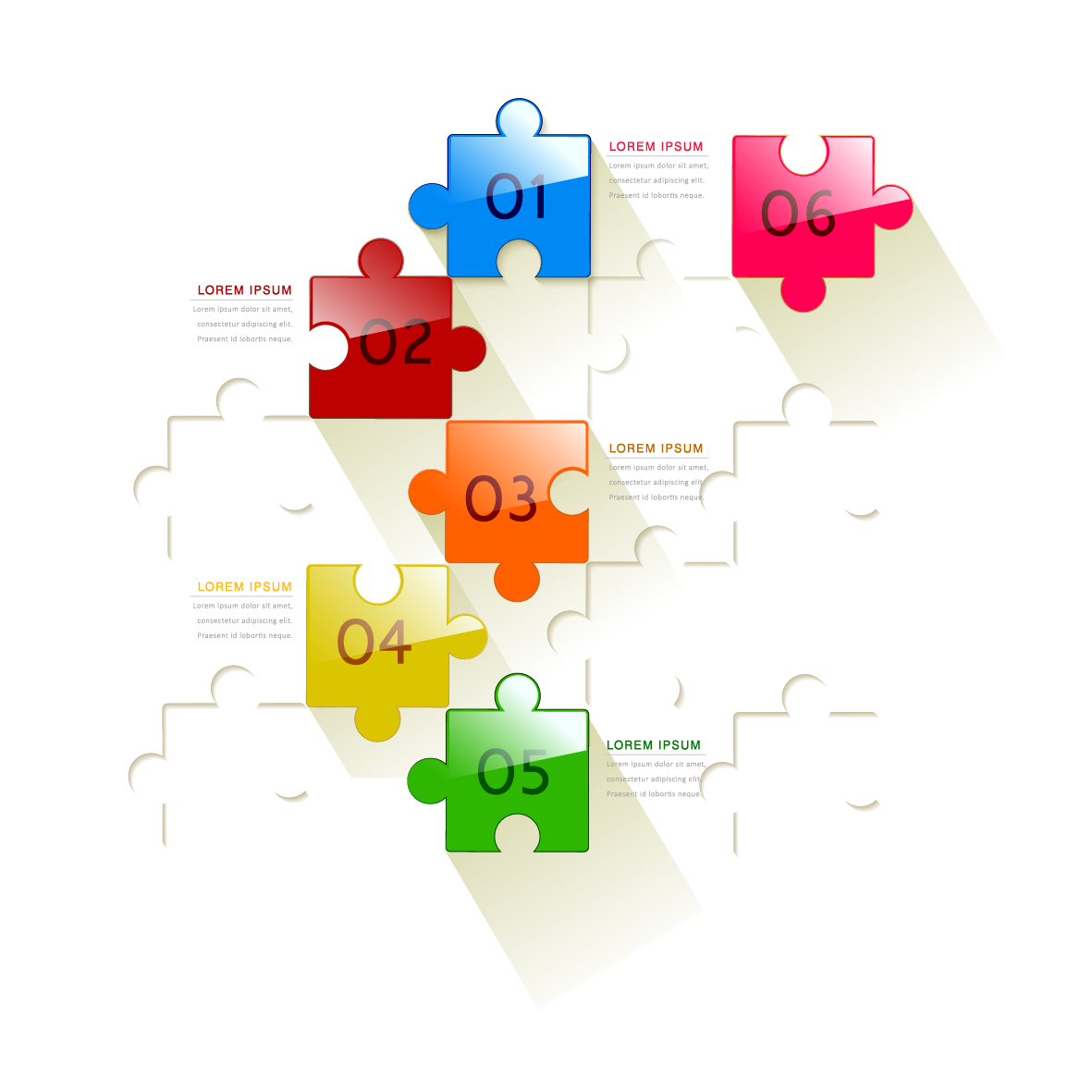 Jigsaw Puzzles Graphic Design Infographic - Vector Puzzle Ppt Material  1181*1181 Transprent Png Free Download - Diagram, Square, Text. - Puzzle PNG HD Powerpoint