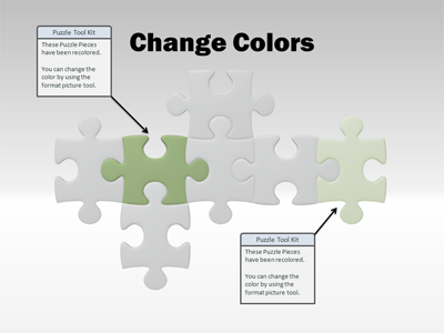 Sample Template Slide - Puzzle PNG HD Powerpoint