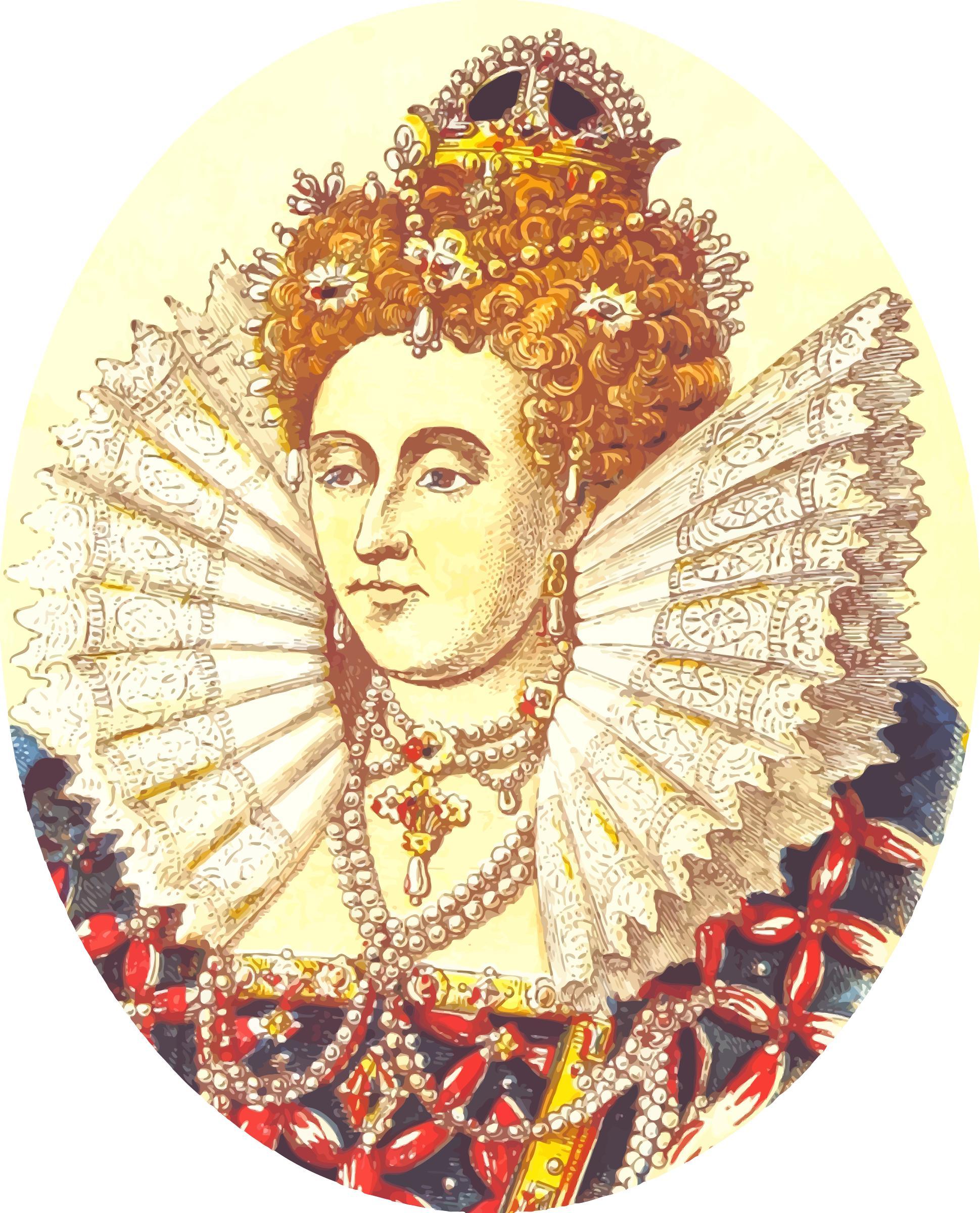 Queen Elizabeth 1 PNG