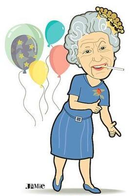 Queen Elizabeth Cartoon PNG-PlusPNG.com-271 - Queen Elizabeth Cartoon PNG